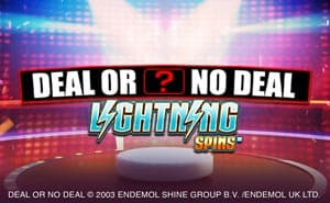 Deal Or No Deal Lightning Spins
