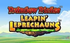 Rainbow Riches Leapin Leprechauns slot games