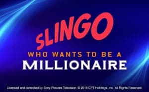 slingo who wants to be a millionaire casino game
